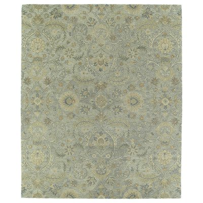 Kaleen Rugs Helena Collection 3200-77 Silver Hand Tufted 10' x 14' Rug (Sage Rug Outdoor Silver)