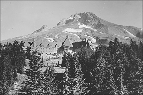 20x30 Poster; Timberline Lodge, Built By Wpa, Mount Hood National Forest, Oregon 1930 - Timberline Lodge Mount Hood Oregon