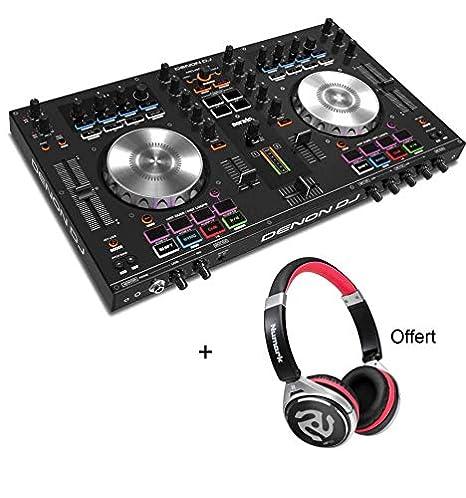 Pack Denon Dj MC4000 - Controlador 2 Vías + Tarjeta de ...