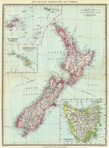 Amazon Com Nueva Zelanda Tasmania Fiji Friendly Samoa