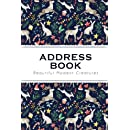 address book christmas tiny cute reindeers and rabbits the