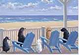 Best Peter Pauper Press Stationeries - Dogs In Deck Chairs Note Cards Review