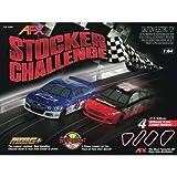 AFX Stocker Challenge, HO Scale Slot Car Racing Track Set by AFX