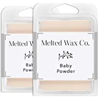 Melted Wax Co. Premium Soy Wax Melts   Highly Scented 100% Soy Wax   Long Lasting & Richly Scented Cubes   Vegan & Animal Cruelty Free   Paraffin Free   6 oz in 2 pk