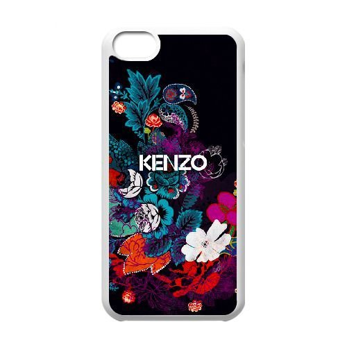 iPhone 5C Phone Case White KENZO WTHG1021812