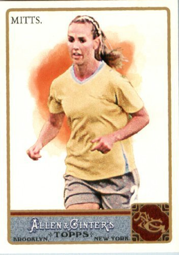 (2011 Topps Allen and Ginter Baseball Card #164 Heather Mitts - US Womens National Soccer Team - MLB Trading Card)