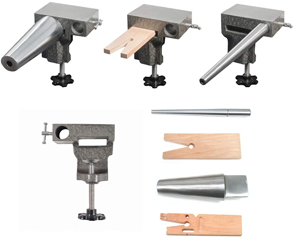 Bench Anvil Combo Kit- Bracelet and Ring Mandrels, Anvil - SFC Tools - 13-132