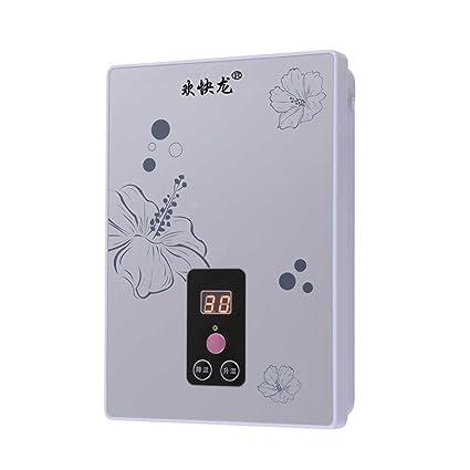 LJ 6kW debajo del fregadero Calentador de agua del calor inmediato (Color : Blanco)