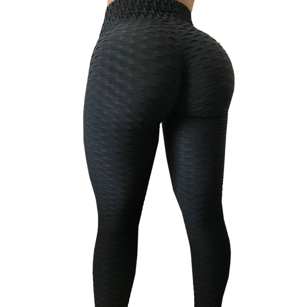 b94fcc54bb273 Breathable, Seamless, Tight Fit, Strong Compression, Quick Drying, Moisture  Wicking , Stretchy. Style: Sexy Butt Lift High Waisted Leggings for Women,  ...