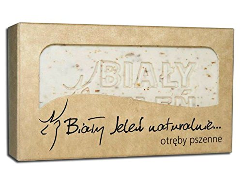BIALY JELEN - Hypoallergenic natural soap with bran - 100g