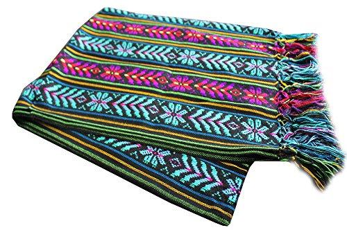 UPC 701936021274, Del Mex Mexican Rebozo Shawl Blanket Doula (Regular (6 ft x 2.5 ft), Black)