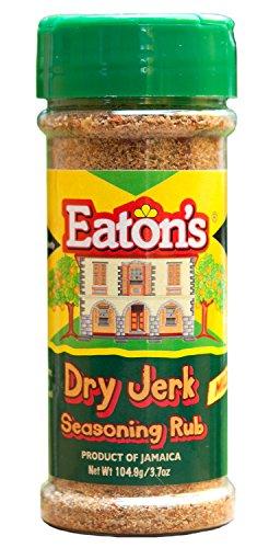 Mild Seasoning (Eaton's Jamaican Dry Jerk Seasoning Rub MILD 3.7oz)