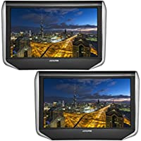 ALPINE 10.1 inch WXGA Monitor Seat Back Rear Vision (2 packs) SXH10T【Japan Domestic genuine products】