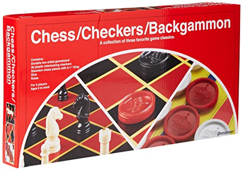 Chess/Checkers/Backgammon Set -