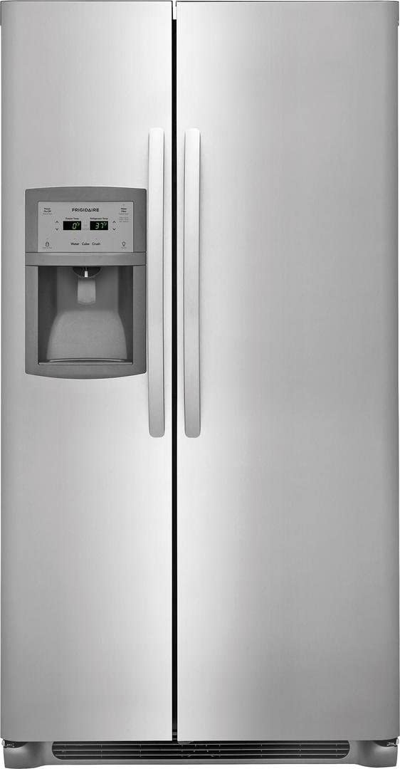 Frigidaire FFSC2323TS36 Inch Stainless Steel Freestanding Side by Side Refrigerator