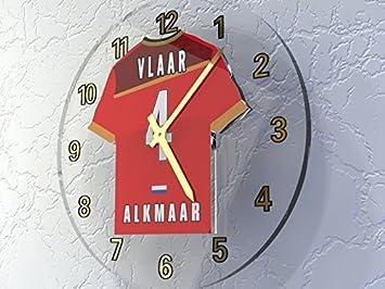 Holanda EREDIVISIE - Holanda camiseta de fútbol relojes de pared - cualquier nombre, cualquier número