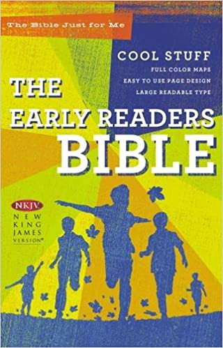 NKJV, Early Readers Bible, Large Print, Hardcover: New King James