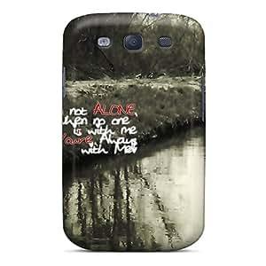 New Not Alone Tpu Case Cover, Anti-scratch XWE2168bjdu Phone Case For Galaxy S3