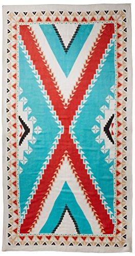 Theodora & Callum Women's Nomad Scarf, Turquoise/Multi by Theodora & Callum