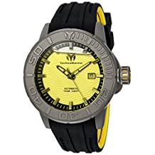 Technomarine Men's 'Reef' Automatic Titanium and Silicone Casual Watch, Color:Two Tone (Model: TM-516004)