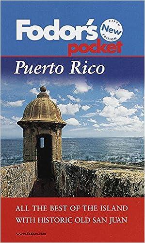 Fodors Puerto Rico