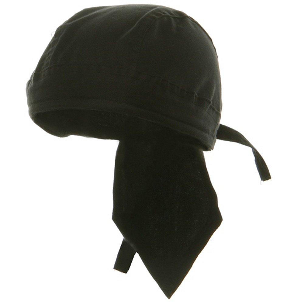 Sweat Band Head Wraps-Solid Black sb026hw-Solid_Black-osfm