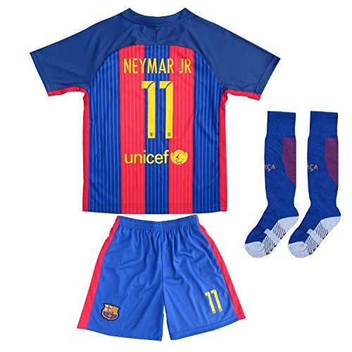 20162017-BARCELONA-11-NEYMAR-JR-HOME-SOCCER-JERSEY-SHORTS-YOUTH-SIZES