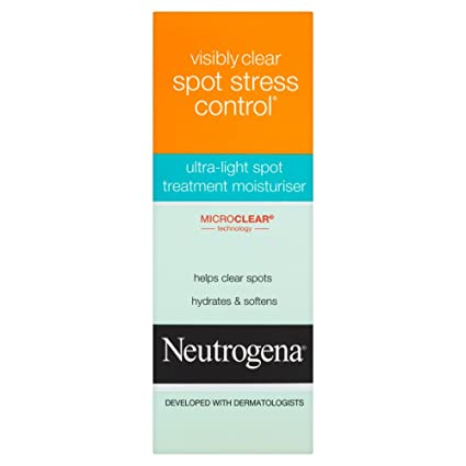 Neutrogena Visibly Clear Spot Stress Control Ultra-Light Spot Treatment Moisturiser 40ml