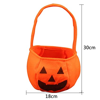 Gift Bags   Wrapping Supplies - Halloween Party Non Woven Fabrics Pumpkin  Bags Props Kids Children ce62e04af
