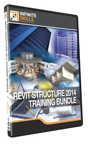 Learning Revit Structure 2014 Bundle - Training DVD by Infiniteskills