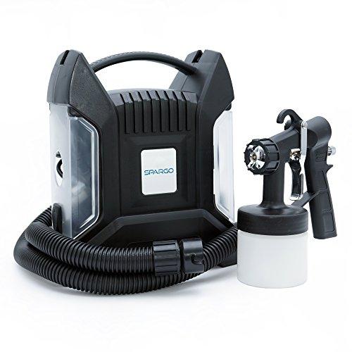 Spagro Tan Sunless Airbrush HVLP Air Spray Gun Machine Tanning Kit System...