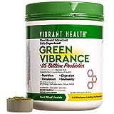 Vibrant Health - Green Vibrance, A Comprehensive, Restorative, Advanced Daily Superfood + Vegan D3, 60 servings