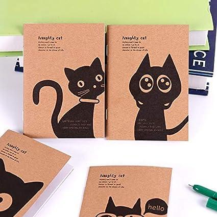 10 Unids Mini Kawaii Gato Y Circo Diario Diario Cuaderno En ...