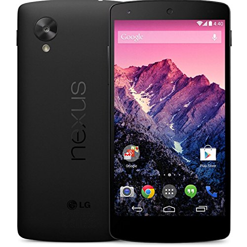 LG Nexus Unlocked Cellphone Black