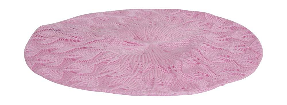 Baby Pink TOP HEADWEAR Hip Slouchy Lightweight Knitted Beanie