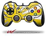 Rising Sun Japanese Flag Yellow - Decal Style Skin fits Logitech F310 Gamepad Controller (CONTROLLER SOLD SEPARATELY)
