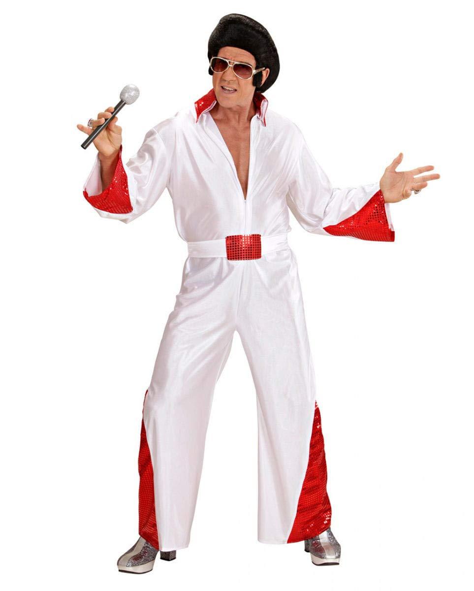 Elvis traje con Glitter Red XL: Amazon.es: Juguetes y juegos
