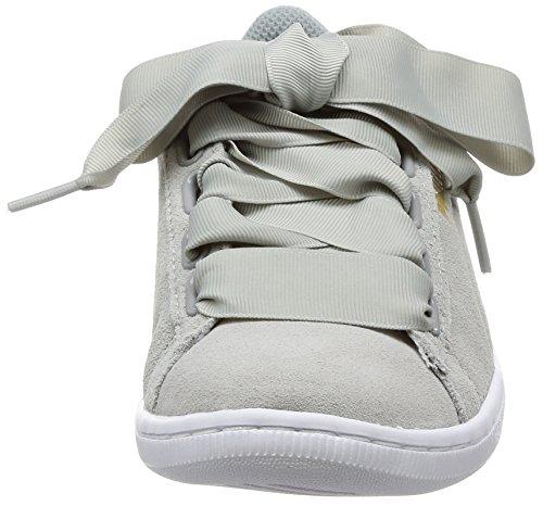 Gris Basses Puma Ribbon Femme Vikky Sneakers ttXH0