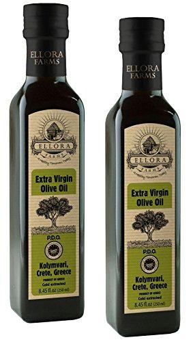 Extra Virgin Italian Olive Oil (Ellora Farms Traceable Extra Virgin PDO Olive Oil, Single Origin and Single Estate, Non GMO, Protected Designation of Origin