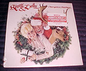 Kenny And Dolly Christmas.Kenny Dolly Once Upon A Christmas By Kenny Rogers Dolly Parton Record Vinyl Album Lp