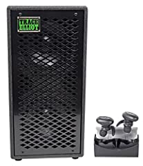 """Description of ELF 2x8: Destined to be an instant classic, the Trace Elliot ELF 2x8 cabinet provides pristine, full-range bass reproduction in a small, lightweight package. The 2x8 cab features two 8"""" Faital drivers and includes dual parallel..."""