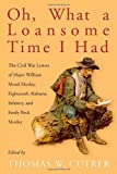 Oh, What a Loansome Time I Had : The Civil War Letters of Major William Morel Moxley, Eighteenth Alabama Infantry, and Emily Beck Moxley, Moxley, Emily Beck, 0817357564