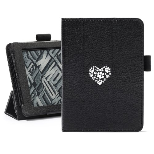 Black Amazon Kindle Paperwhite Leather Magnetic Case Cove...
