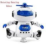 AOCKS Electronic Walking Dancing Smart Robot Toys Space Robot Astronaut Kids Music Light Toys