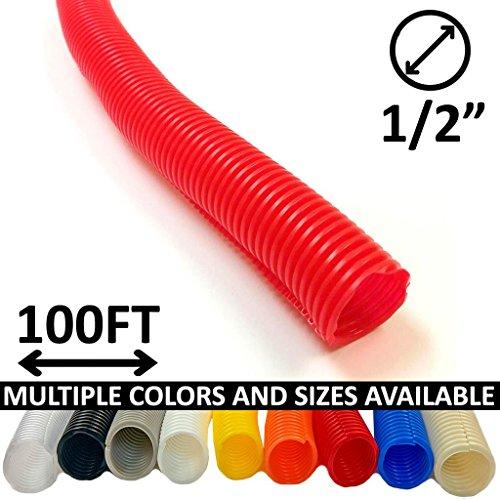 split loom red - 2