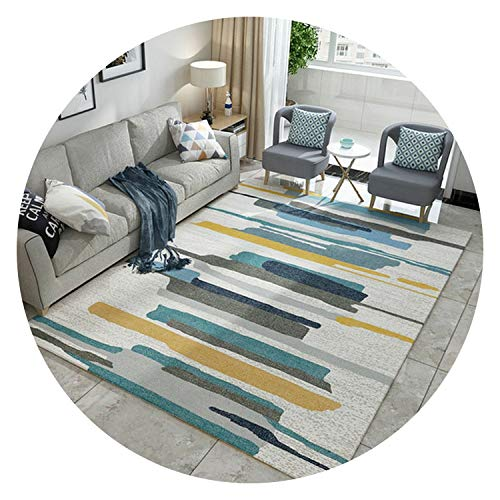 Geometric Simplicity Carpet Home Carpets for Living Room Soft Rugs for Bedroom Sofa Coffee Table Rug Study Floor Mat Kids Mats,Q,180x280cm -