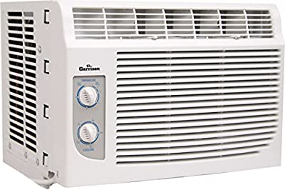 GARRISON 2477793 R-410A Through-The-Window Cool-Only Air Conditioner with Mechanical Control, 5000 BTU, White