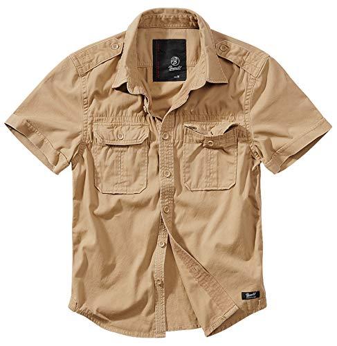Brandit Vintage Shirt Longsleeve und Shortsleeve, Größen S bis 7XL