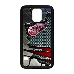 Custom Unique Design NHL Detroit Red Wings Samsung Galaxy S5 Silicone Case