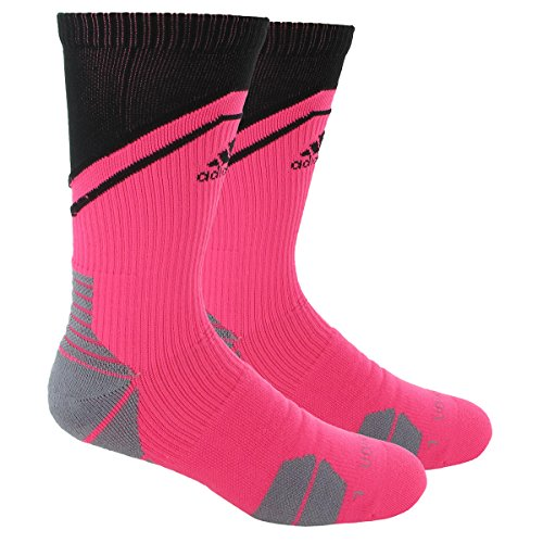 adidas Unisex Traxion Impact Basketball/Football Crew Sock